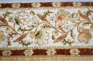 Tussur Silk Embroidery by the Leek Embroidery Society