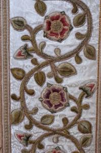 St Luke's Chruch, Leek,  Altar Frontal Detail